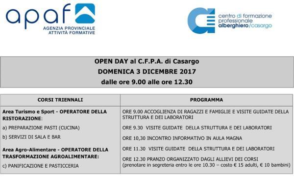Open day 2017-Cfpa small1