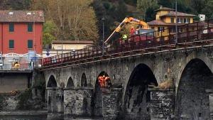 ponte vecchio cantiere lavori fine