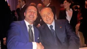 davide-bergna-con-il-presidente-silvio-berlusconi