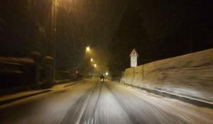 neve 20gen18 nevicata notte Provinciale ballabio