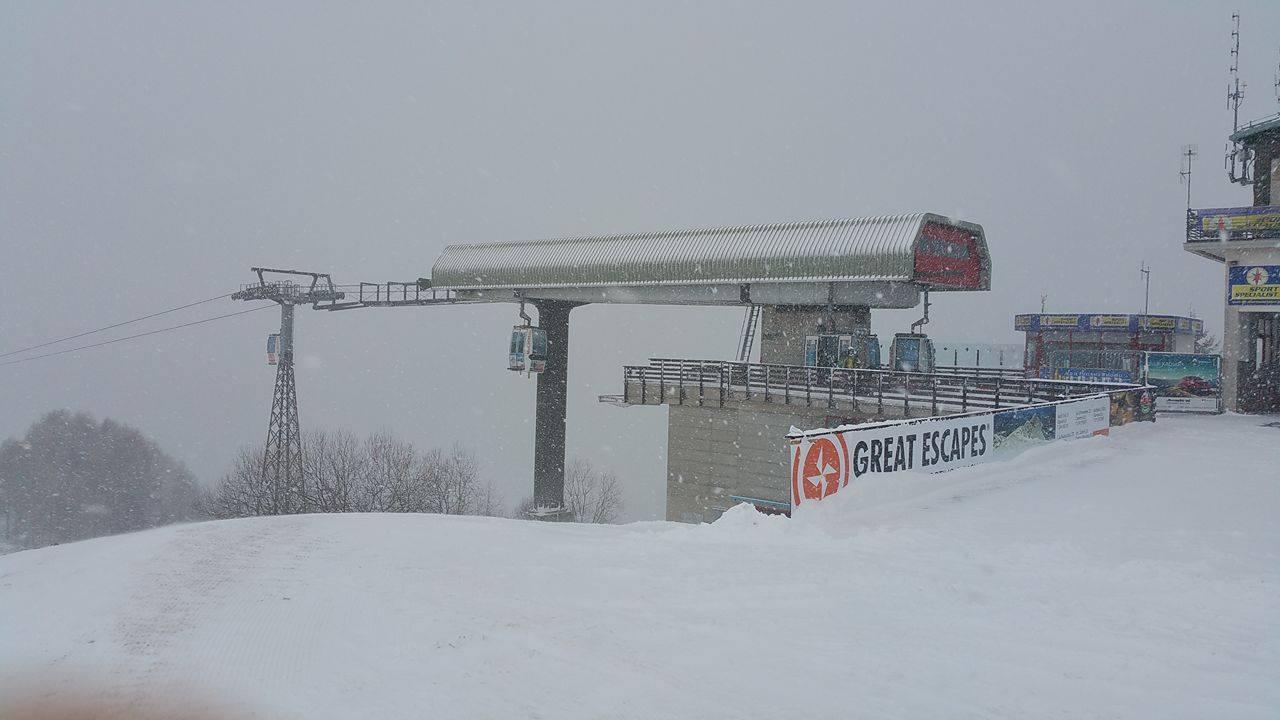 Bobbio cabina in arrivo neve for Piani di cabina 32x32