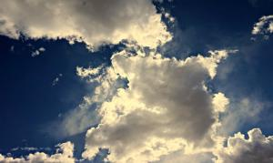 Meteo variabile nuvole