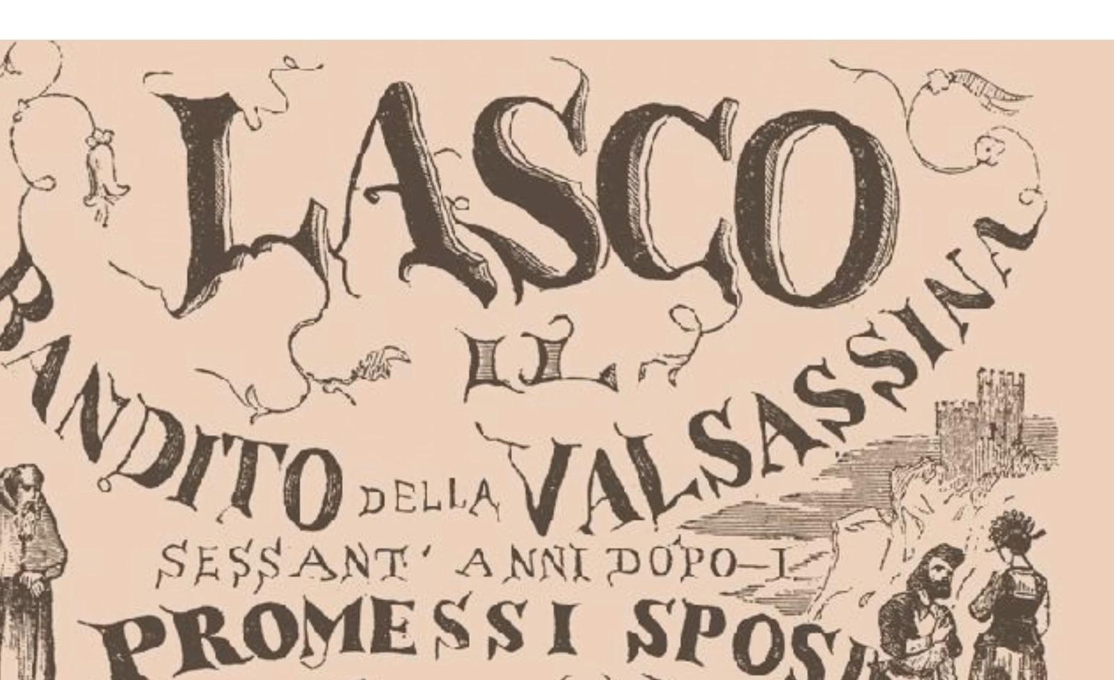 Risultati immagini per Lasco, il bandito della Valsassina