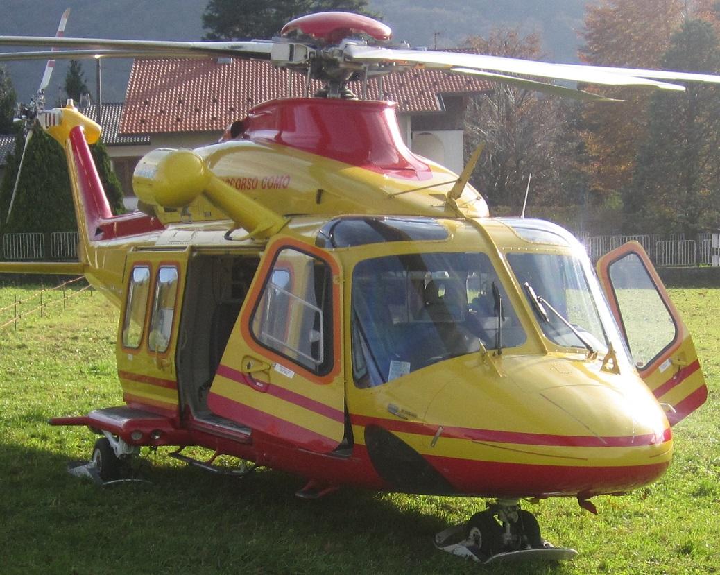 Zaino Elicottero : L elicottero del volerÀ anche di notte casargo e