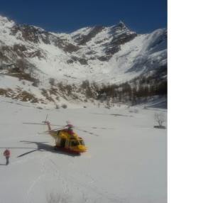 elicottero elisoccorso neve 1 biandino