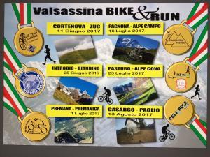 volantino cortenova run e bike