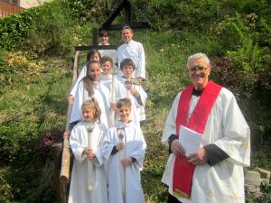 via crucis bambini Moggio (1)