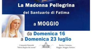 Madonna pellegrina Fatima Moggio Logo