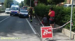 incidente ballabio ambulanza pompieri