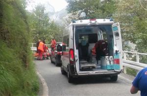 incidente ciclista morterone 3