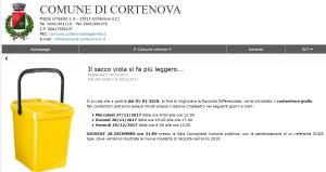 BIDONE GIALLO CORTENOVA