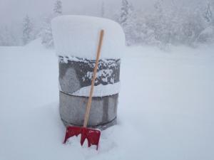 piani di bobbio - neve 27 dicembre