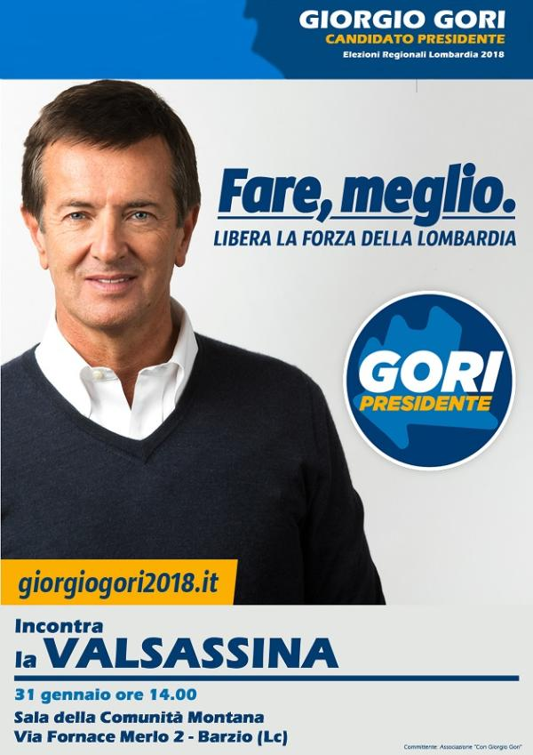 GIORGIO GORI VALSASSINA