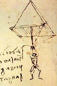 Paracadute di Leonardo