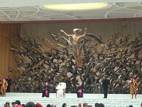 croce rossa dal papa (7)