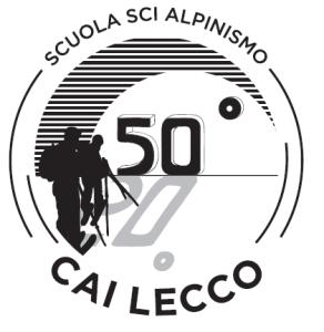 50esimo scuola sci alpinismo CAI lecco