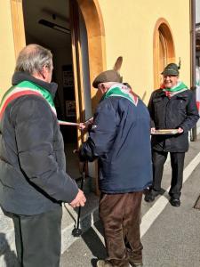 ArrigoniMarocco Salvi mostra inaugurazione teresio olivelli
