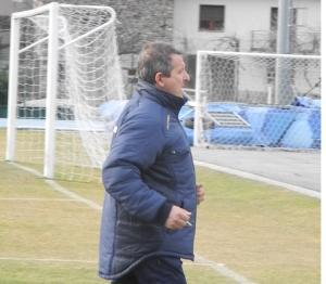 CALCIO CORTENOVA ALLENATORE ANTONIO SELVA tra le porte