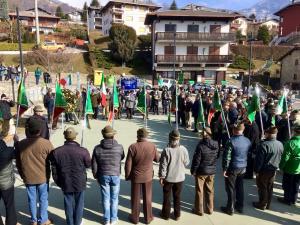 deposizione corona mostra inaugurazione teresio olivelli