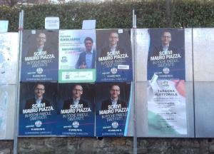 manifesti elettorali forza italia