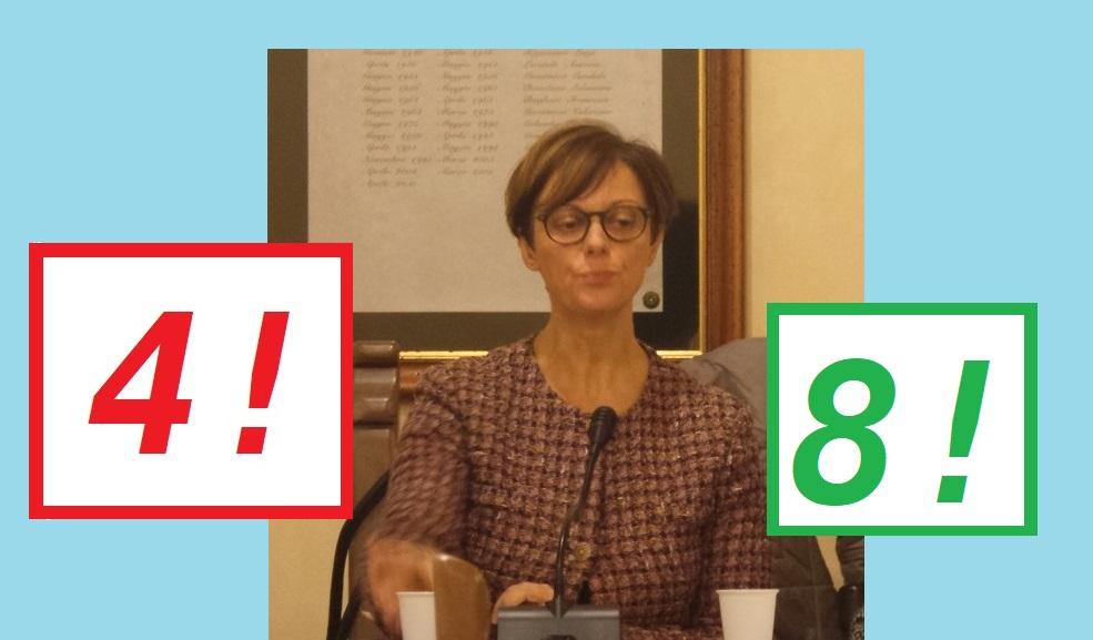 SONDAGGIO VOTI 4 E 8 CONSONNI