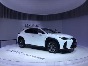 lexus ux salone ginevra 2018