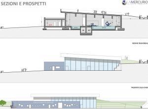 piscina introbio prospetti progetto