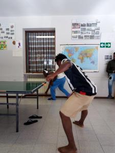 torneo ping-pong centro migranti cremeno maggio cara artigianelli