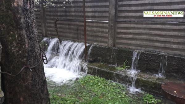 ALLAGAMENTO PASTURO acqua DA MURI