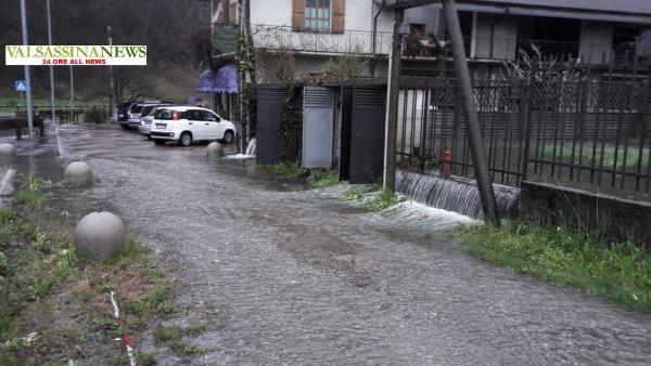 ALLAGAMENTO PASTURO acqua in strada