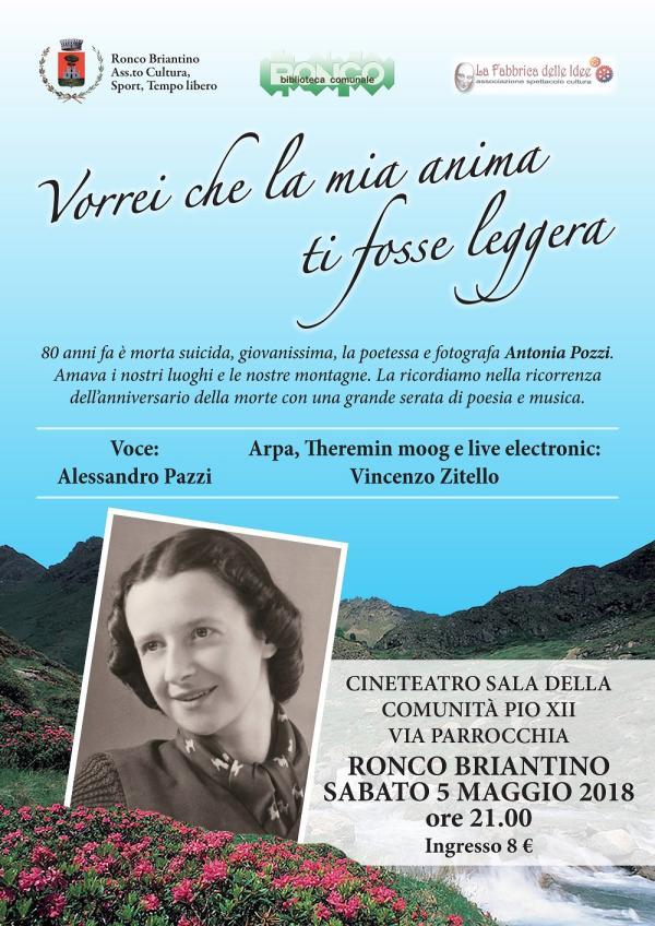 Antonia Pozzi - Locandina