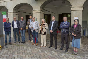 LA ROCHE VINEUSE gemellaggio 2018 Cortenova i sindaci e i due presidenti