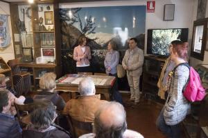 LA ROCHE VINEUSE gemellaggio 2018 Premana il curatore del Museo Etnografico Caterina Gianola