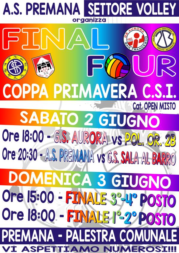 VOLLEY PREMANA _ FINAL FOUR