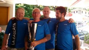 Campionato interprovinciale Pesca Trota Torrente - La Cascata Introbio