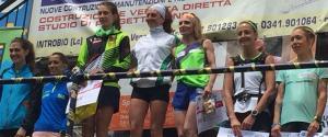 Introbio Biandino 24 giugno podio femminile