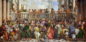 Nozze di Cana Paolo Veronese 1563
