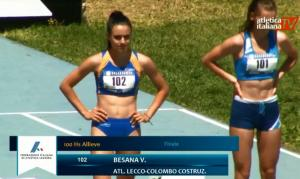 Veronica Besana vittoria tricolori 100 ostacoli