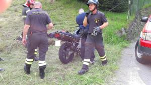 incidente moto Cremeno 17 giugno (2)