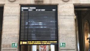 stazione milano treni tabellone 1
