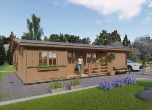 Case Di Tronchi Di Legno : PerchÉ le case in legno sono meglio degli edifici convenzionali